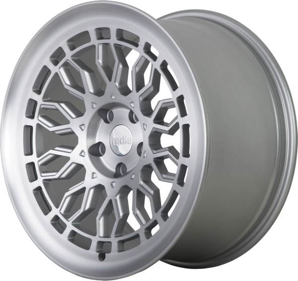 R8-A10 RADI8 R8-A10 Matt Silver Machine Face 18x8,5 5/112 N66,6