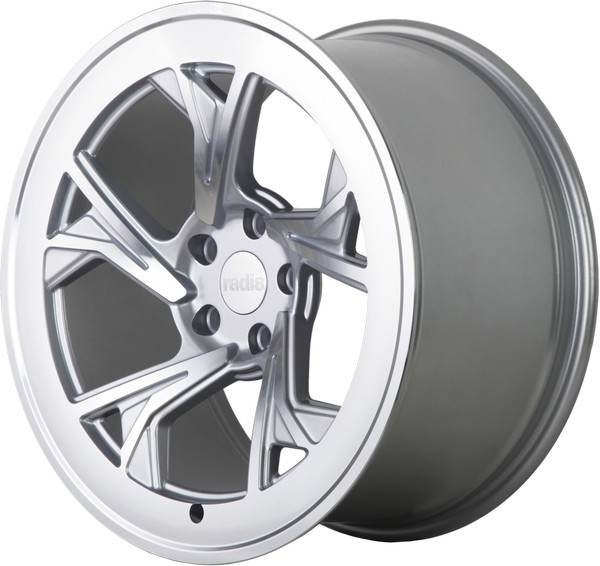 R8-C5 RADI8 R8-C5 Matt Silver Machine Face 19x8,5 5/112 N66,6