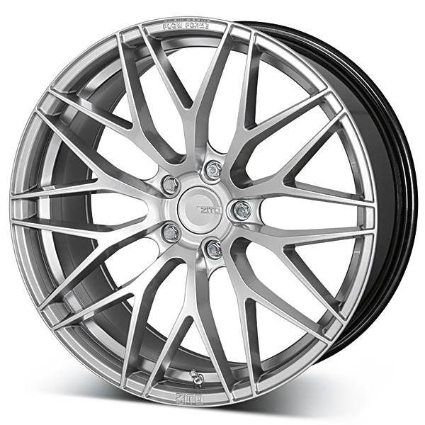 ZITO ZF01 Silver 5x105 ET 28 CB 74.1 - Abyss
