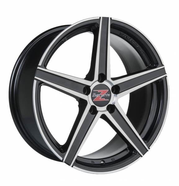 Barzetta Vulcanus Black Polished RIMFORGED 5 ET 40 CB 65.1 - Vulcanus Black Polished RIMFORGED