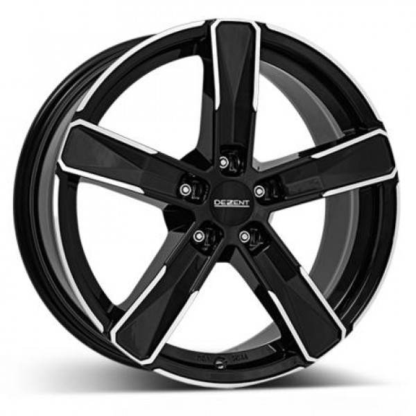 DEZENT SF dark 5 ET 48 CB 71.6 - SF dark