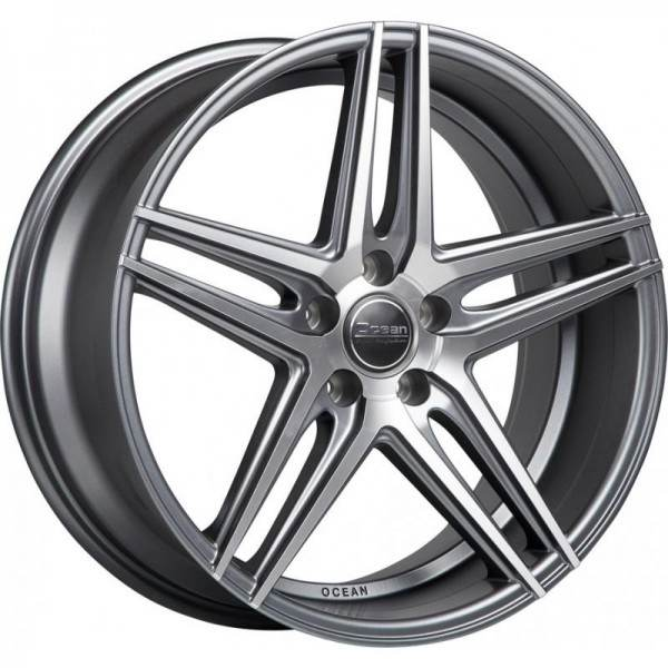 OCEAN WHEELS Atlantic Antracit Matt Polish 5 ET 35 CB 66.5 - WHEELS Atlantic Antracit Matt Polish