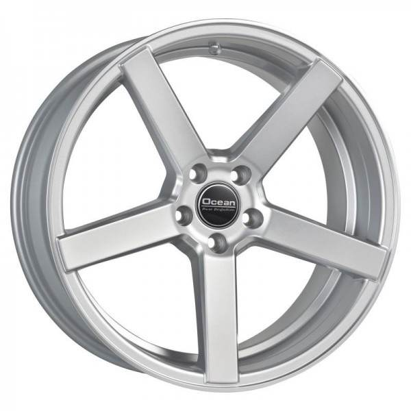 OCEAN WHEELS Cruise Concave Bright Silver 5 ET 40 CB 72.6 - WHEELS Cruise Concave Bright Silver