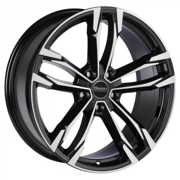 WHEELS F5 Black Polish OCEAN WHEELS F5 Black Polish - AVM 19x8,5 5/112 N66,5
