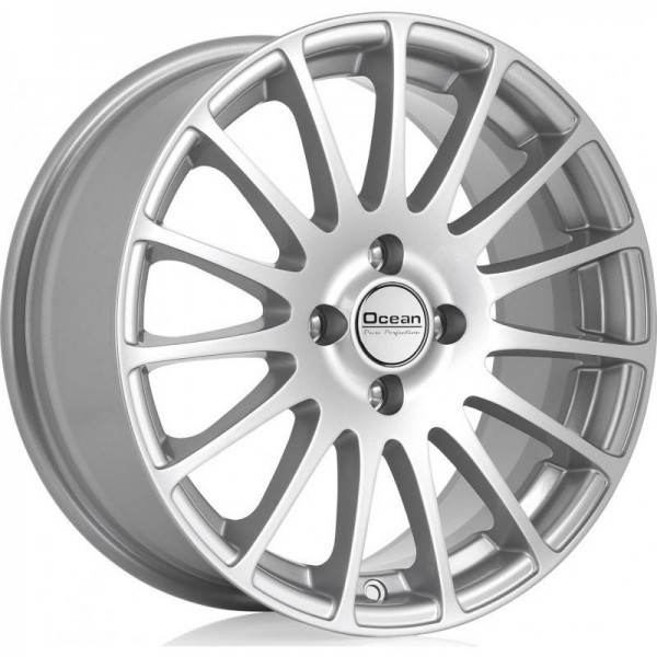 OCEAN WHEELS Fashion Silver 4 ET 38 CB 67.1 - WHEELS Fashion Silver