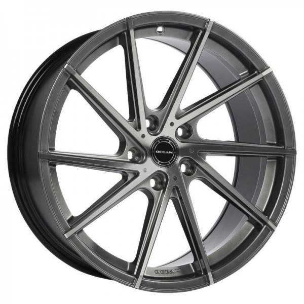 OCEAN WHEELS OC 01 Antracit Polish 5 ET 48 CB 72.6 - WHEELS OC 01 Antracit Polish