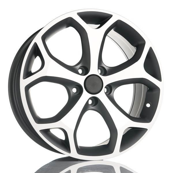 V Wheels Kinect TitaniumPolish 5 ET 45 CB 65.1 - Kinect TitaniumPolish