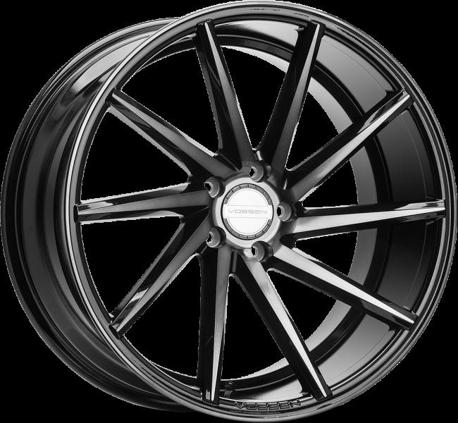 Vossen CVT Tinted Gloss Black 5 ET 38 CB 72.6 - CVT