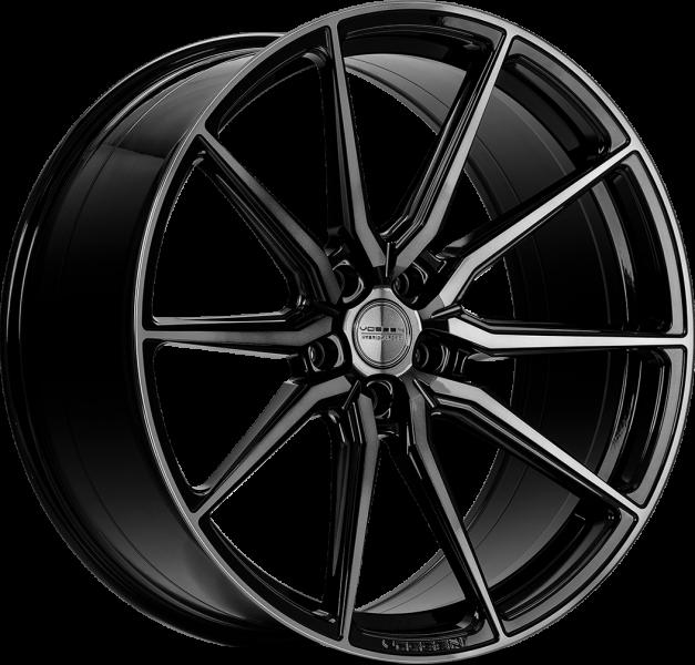 Vossen HF3 Double Tinted Gloss Black 5 ET 38 CB 72.6 - HF3