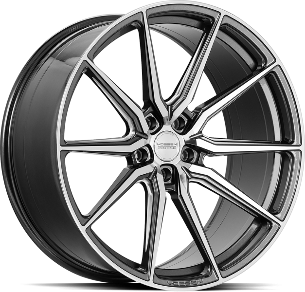 Vossen HF3 Gloss Graphite Polished 5 ET 30 CB 72.6 - HF3