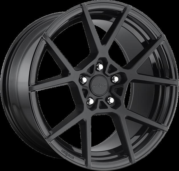 Rotiform KPS R139 Black Two Tone 5 ET 35 CB 66.6 - KPS R139