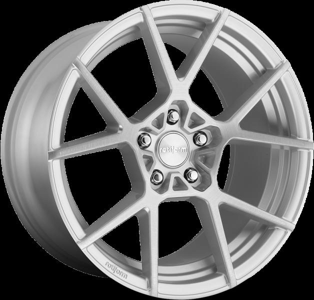 Rotiform KPS R139 Silver & Machined 5 ET 35 CB 66.6 - KPS R139