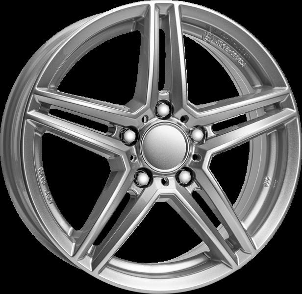 Rial M10 Polar Silver 5 ET 49 CB 66.6 - M10