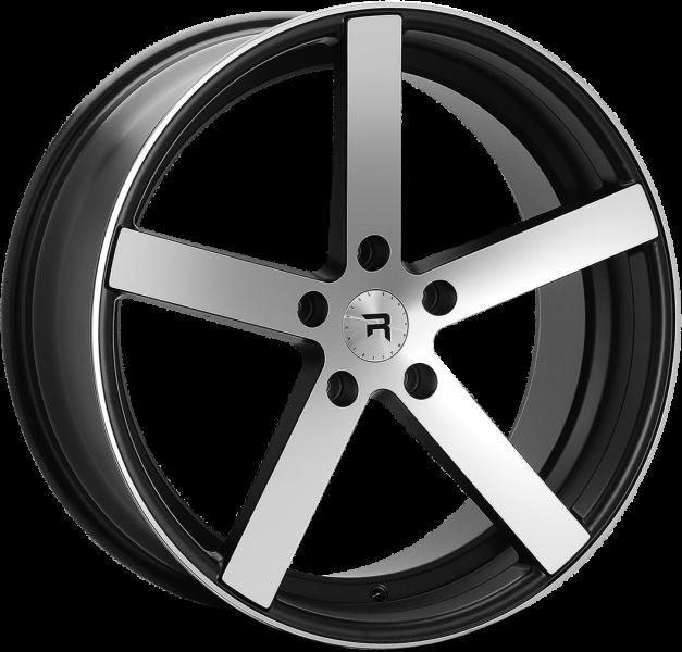 R Series R1 Black Polish 5 ET 40 CB 72.6 - R1