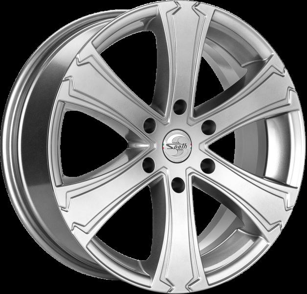 Spath SP42 H Chrome Silver 6 ET 45 CB 93.1 - SP42 H