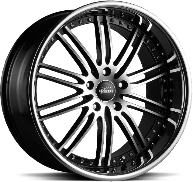 Vertini Hennessey Black Mach Face 5 ET 42 CB 66.6 - Hennessey