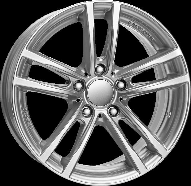 Rial X10 Polar Silver 5 ET 43 CB 66.6 - X10