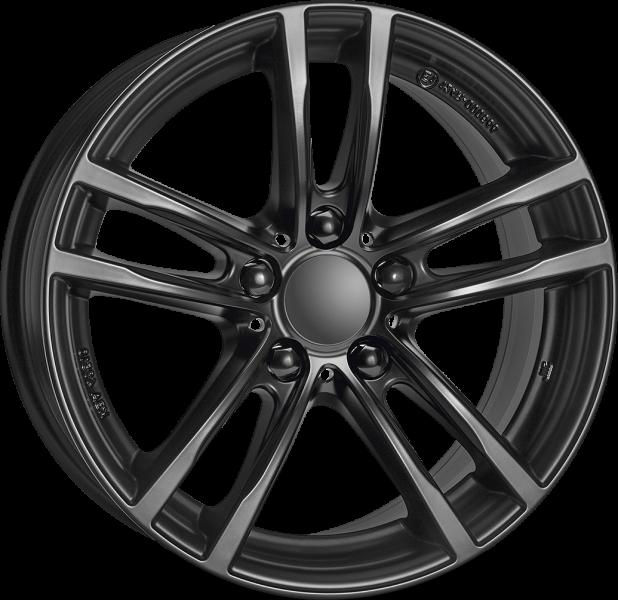 Rial X10 Racing Black 5 ET 43 CB 66.6 - X10