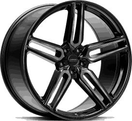 Vossen HF1 Tinted Gloss Black fälgar