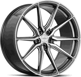 Vossen HF3 Gloss Graphite Polished fälgar