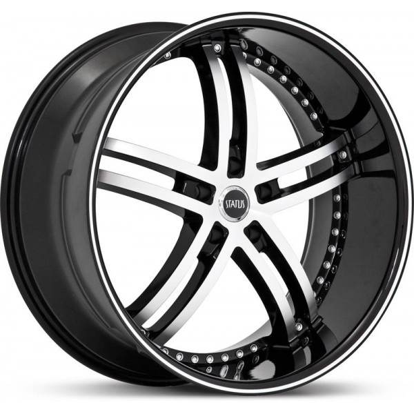 Knight 5 Black 4x100 ET 40 CB 73.1 - 5 Black