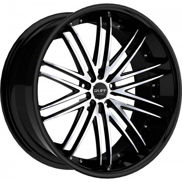 R980 Black machined 5 ET 50 CB 73.1 - Black machined