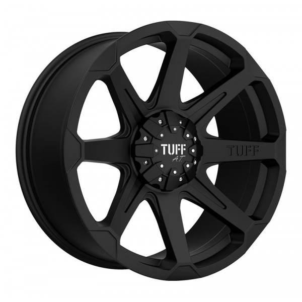 T05 FLAT BLACK 5x114.30 ET 10 CB 74.1 - FLAT BLACK
