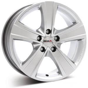 MAK Fuoco6 silver 6 ET 50 CB 84.1 - Fuoco6 silver