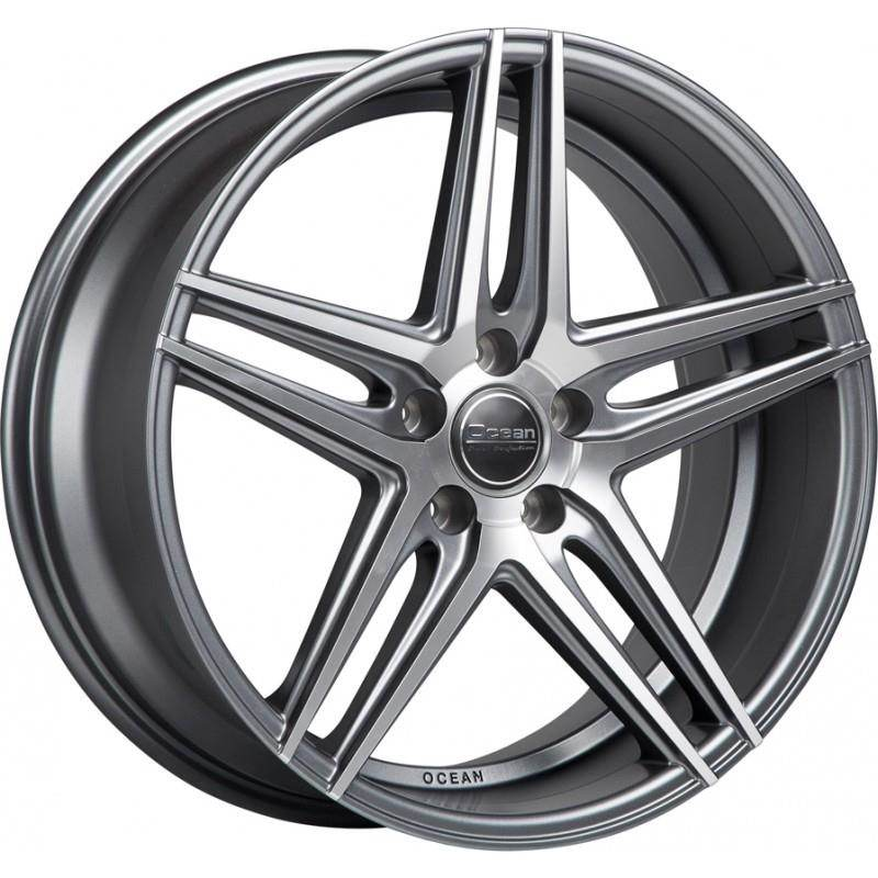 OCEAN WHEELS Atlantic Antracit Matt Polish 5 ET 25 CB 66.5 - WHEELS Atlantic Antracit Matt Polish