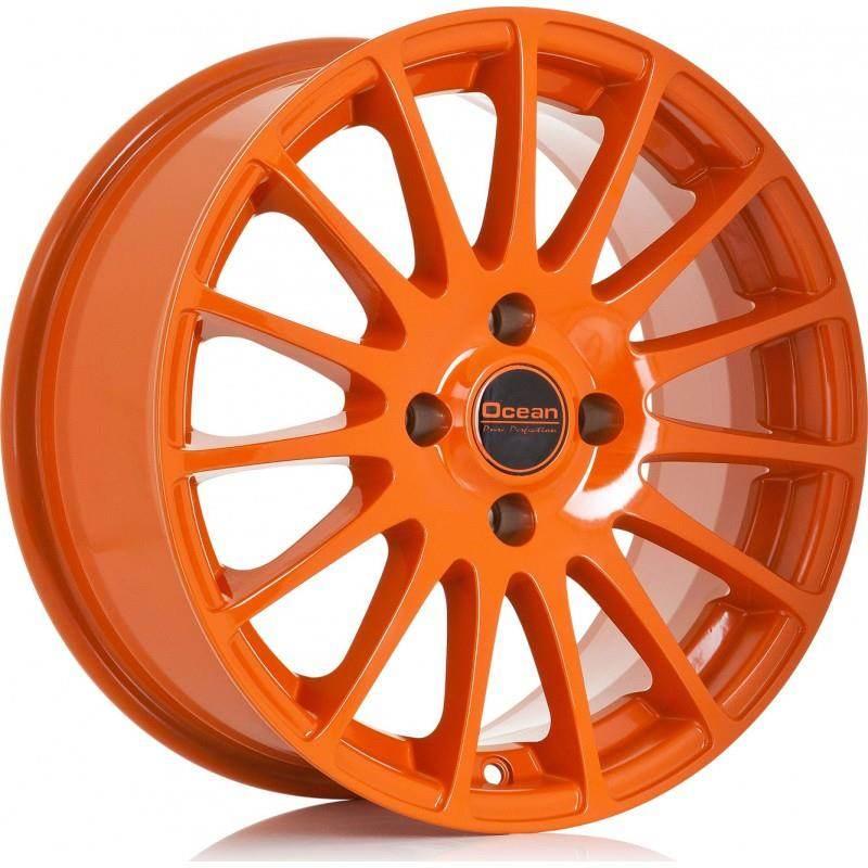 OCEAN WHEELS Fashion Orange 4 ET 25 CB 65.1 - WHEELS Fashion Orange