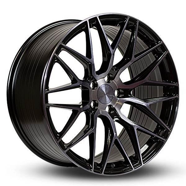 Imaz Wheels FF533 10x20 ET43 DARK TINT 5x108 ET 43 CB 74.1 - Imaz Wheels
