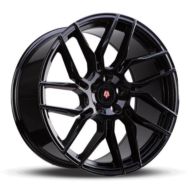Imaz Wheels IM12 9.5x19 ET40 Black 5x114.3 ET 40 CB 74.1