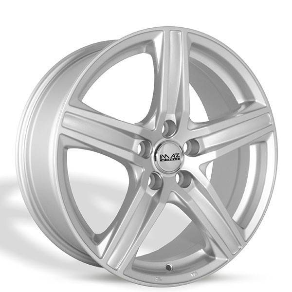 Imaz Wheels IM302 7x16 ET38 Silver 5 ET 38 CB 66.6 - Imaz Wheels