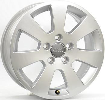 6,5X16 AUDI A3 7SP 5/112 ET50 57,1 DEMO!!! Silver 5 ET 50 CB 57.1 - OEM Original