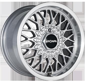 7,5X15 RONAL LS 4/100 ET25 CH57,1 Silver / Polished 4 ET 25 CB 57.1 - RONAL