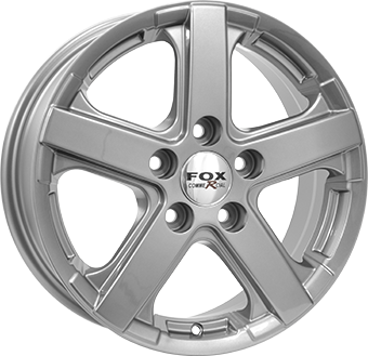 7,5X18 FOX VIPER VAN 5/160 ET45 89,1 950KG Anthracite Dark 5 ET 45 CB 89.1 - FOX