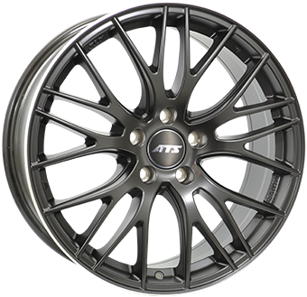 8,0X18 ATS PERFEKTION 5/112 ET42 CH70,1 Dull Black / Polished 5 ET 42 CB 70.1 - ATS
