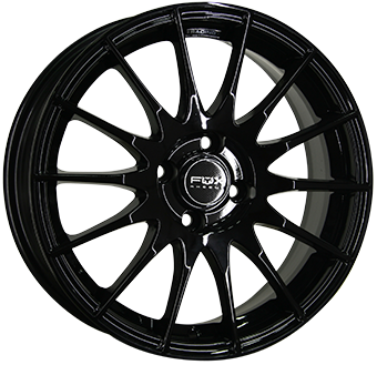 8,0X19 FOX FX4 5/108 ET45 CH73,1 Gloss Black 5 ET 45 CB 73.1 - FOX