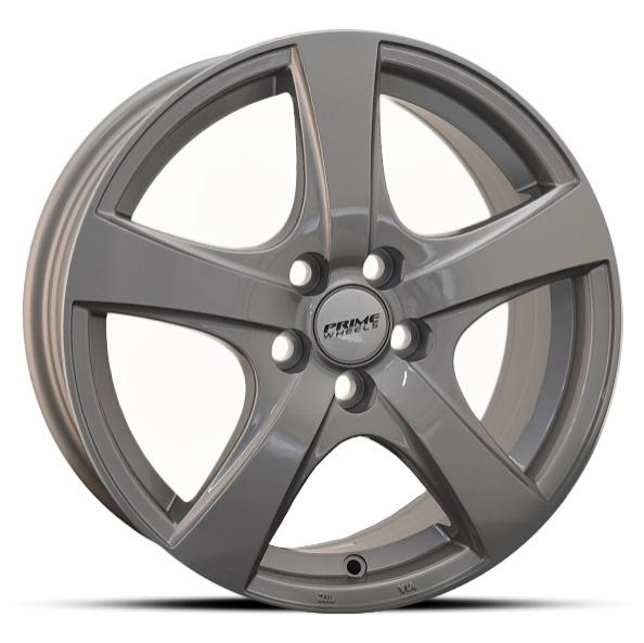 Prime Five Grey FLAT 16x6.5 ET45 CB54.1 5x100