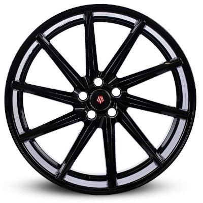 Imaz Wheels IM5 Left 10x22 ET45 Glossy Black 5x120 ET 45 CB 74.1 - Imaz Wheels