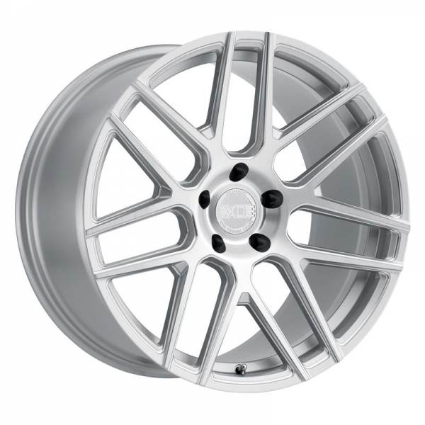 MOSCOW SILVER W BALL MILLED SPOKE & BRUSHED FACE 5 ET 28 CB 66.6 - SILVER W BALL MILLED SPOKE & BRUSHED FACE