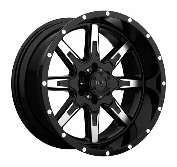 T 15 GLOSS BLACK W MACHINED FACE 5 ET 5 CB 0 - 15 GLOSS BLACK W MACHINED FACE