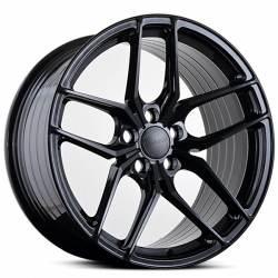 ABS F17 GLOSSY BLACK fälgar