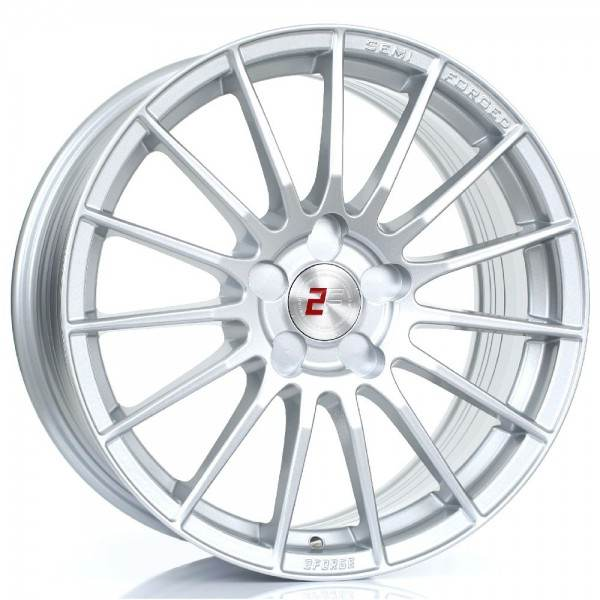 2FORGE ZF1 SILVER 5x118 ET 10-58 CB 74.1 - ZF1