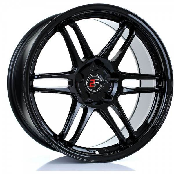 2FORGE ZF5 GLOSS BLACK 5x98 ET 0-38 CB 74.1 - ZF5