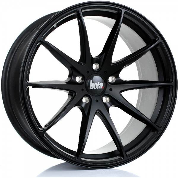 BOLA B9 MATT BLACK 5x98 ET 30-45 CB 74.1 - B9