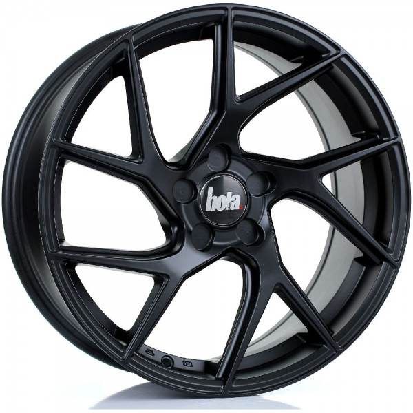 BOLA FLA MATT BLACK 5x100 ET 20-58 CB 74.1 - FLA