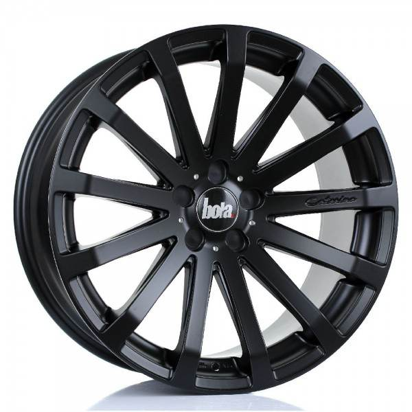 BOLA XTR MATT BLACK 5x98 ET 20-55 CB 74.1 - XTR